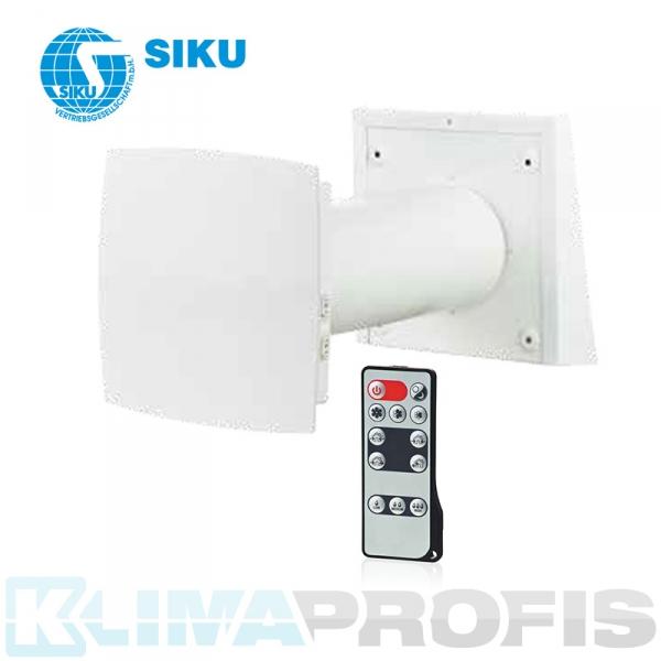 Siku Lüftungssystem TwinFresh Comfo RA1-25 mit Energieregeneration für Räume bis 25 qm