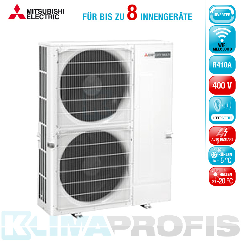 mitsubishi pumy p125ykm1 multisplit inverter au enger t 14 kw f r 2. Black Bedroom Furniture Sets. Home Design Ideas