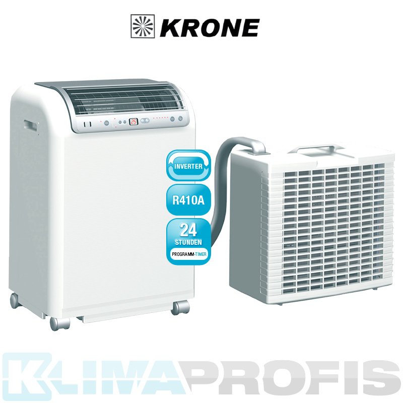 krone rkl 491 dc edv mobiles inverter raumklimager t in splitausf hrung 4 6 kw mobile. Black Bedroom Furniture Sets. Home Design Ideas