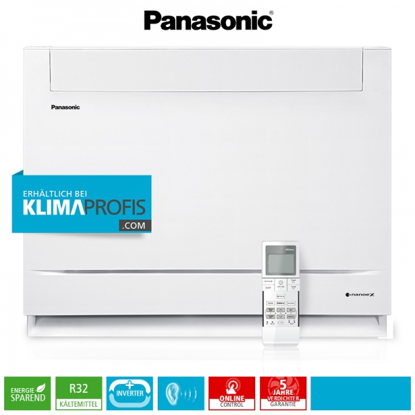 Panasonic CS-Z25UFEAW R32 Multi-Split Inverter Mini-Standtruhe - 2,8 kW