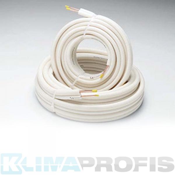 Kältemittelleitung Einzelrohre, 6/10mm, 25 Meter Ring