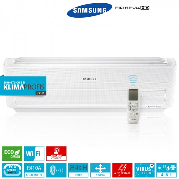 Samsung Wind-Free Multi-Split Inverter - AR 12 - 3,5 kW