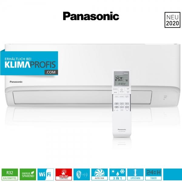 Panasonic CS-TZ20WKEW WiFi R32 Multisplit Compact Wandklimagerät - 2,0 kW