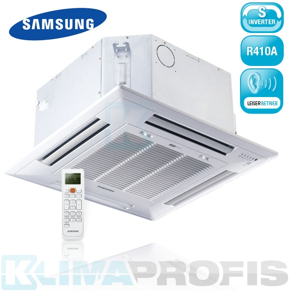 Samsung AJN 035 NDEHA Multisplit Mini-Kassette - 3,5 kW mit 360° Surround Airflow