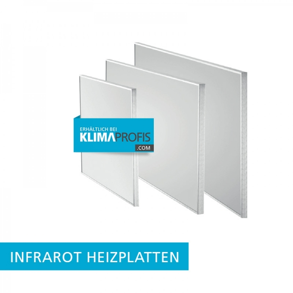 Infrarot Heizplatte Infraplate pro IPP 350 W, Wandmontage