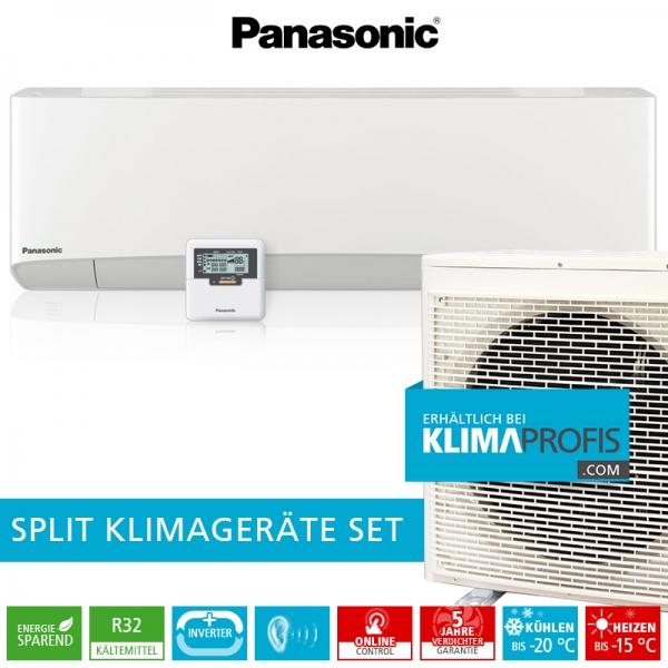 Panasonic CS-Z50TKEA R32 Professional Klimageräte-Set für EDV-Räume - 6 kW