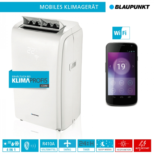 mobiles klimager t blaupunkt moby blue 1012w wifi 3 5 kw monoblock ger te mobile. Black Bedroom Furniture Sets. Home Design Ideas