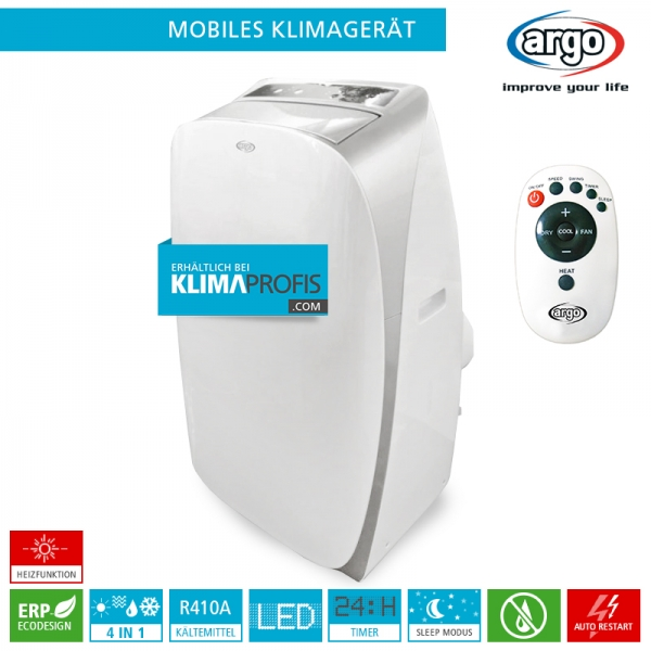 Argo Mobiles Klimagerät Monoblock SOFTY PLUS - 3,5 kW