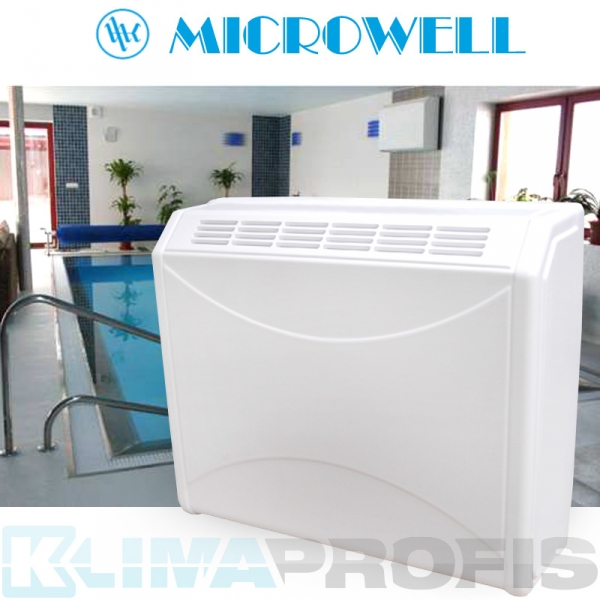 Schwimmbad Luftentfeuchter Microwell Dry 400 plastik - 48 l/24 Std.