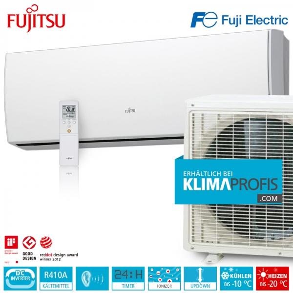 Fujitsu ASYG14LUCA Inverter Design Wandklimageräte Set - 5 kW