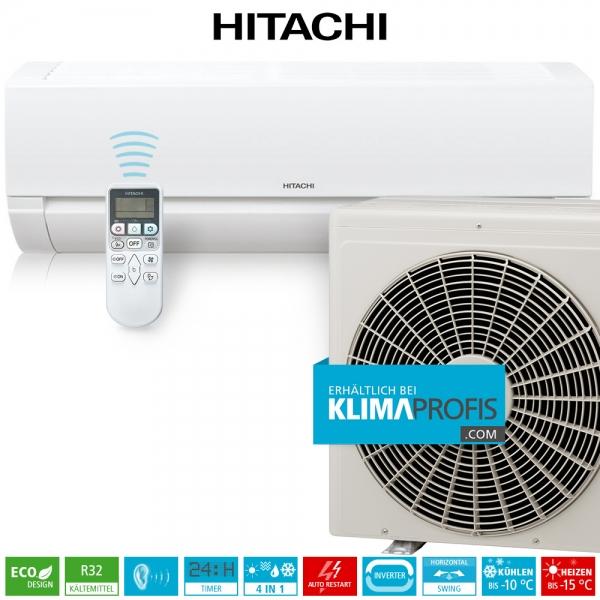 Hitachi Dodai RAK-50PED R32 Inverter Wandklimageräte Set - 5,2 kW