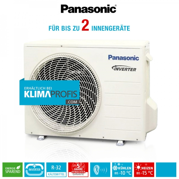 Panasonic CU-2Z35TBE R32 Multi-Split Inverter Plus Außengerät - 4,5 kW