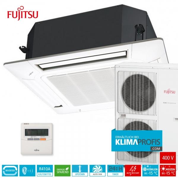 Fujitsu AUYG54LRLA R410A Inverter 4-Wege-Klimageräte-Set, 400 V - 16 kW